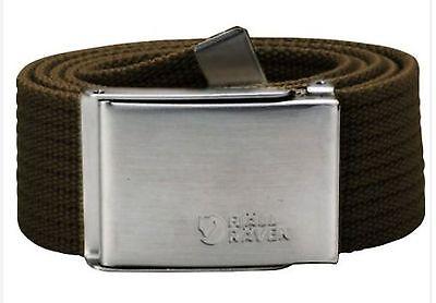 Fjäll Räven Canvas Belt, Dark Olive, 77029