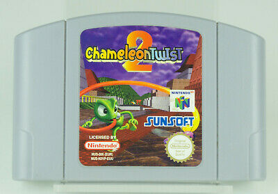 Nintendo 64 *Chameleon Twist 2* N64 Modul