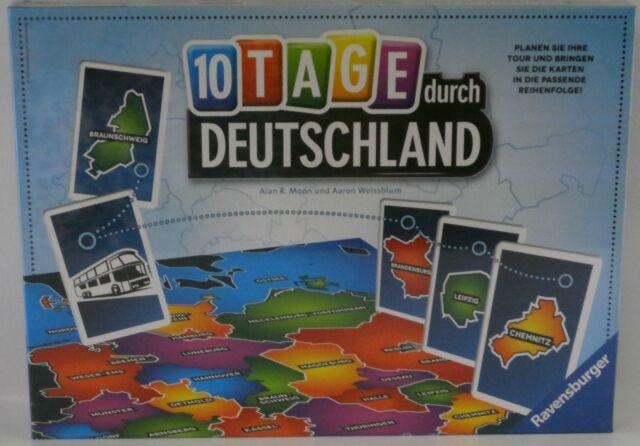 **NEU** Ravensburger 26580 - 10 Tage durch Deutschland **OVP**