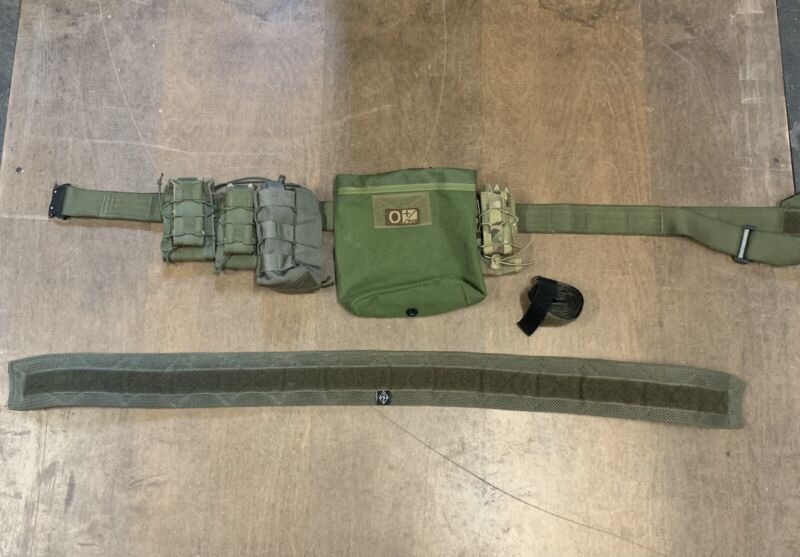 Snake Eater Tactical War Belt