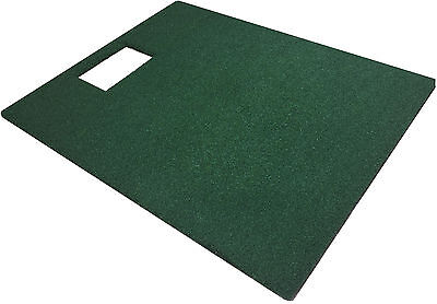 "48"" x 60"" Turf Golf Mat For The OptiShot Golf Simulator - Holds A Wooden Tee"
