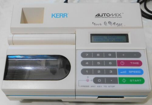 Kerr AutoMIX Computerized Mixing System Model 23425 Powers on