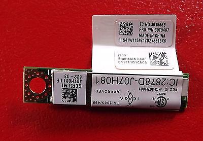 Lenovo Thinkpad T60 T61 R60 R61 X60 Z61 Bluetooth Modul FRU:39T0497 Thinkpad X 60 Bluetooth