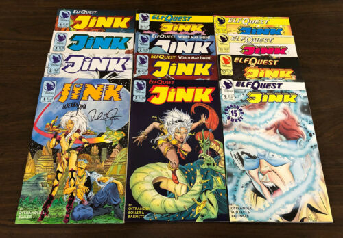 ELFQUEST Jink COMPLETE SET 12 issues NEW (#1 SIGNED)