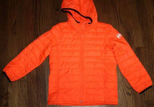 Gap Kids Primaloft Boys Size S (6-7) Orange Hooded Jacket