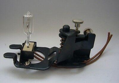 Optik. Lampenhalterung für Halogenlampen