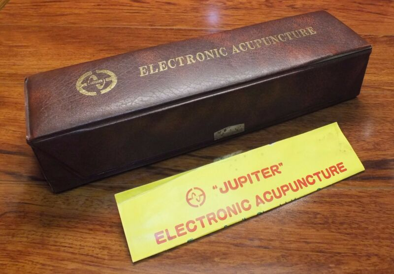 **VINTAGE*Jupiter Electronic Acupuncture (808) In Box Untested - Taiwan