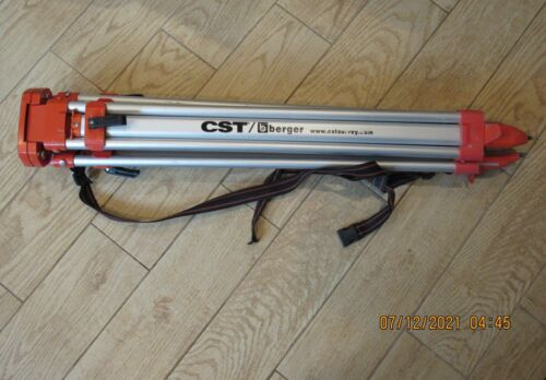 CST / Berger Surveyor Transit Tripod HD Lightweight Aluminum