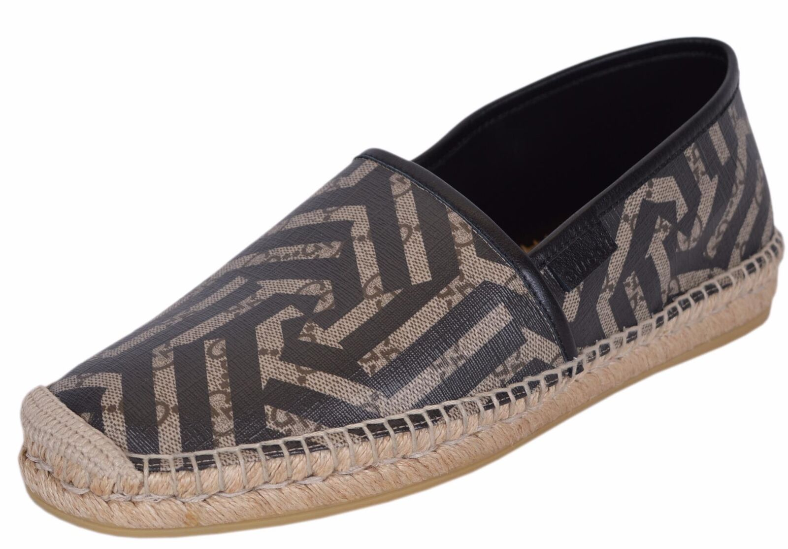 NEW Gucci Men's 407308 GG Supreme Canvas Kaleidoscope Espadrilles Shoes
