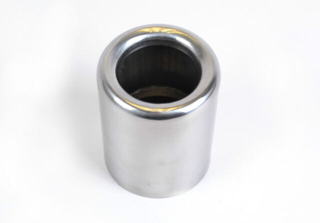 BMW MINI ONE POLISHED STAINLESS STEEL EXHAUST PIPE TAIL TRIM TIP - 45MM ID