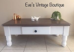 Upcycled Coffee Table, Hampton's/French Provincial/Country Style