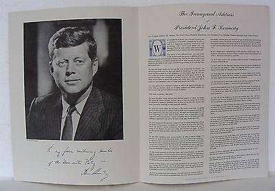 JOHN F. KENNEDY'S INAUGURAL ADDRESS, JOHN BAILEY, FABIAN BACHRACH JFK PORTRAIT
