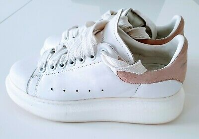 GENUINE Alexander McQueen white oversized shoes chunky trainers sneakers 5 UK