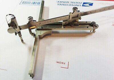 Rare Vintage Riefler Ellipsograph Drawing Instrument Drafting Set Ellipse