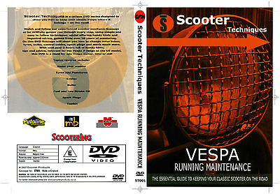 Vespa Running Maintenance DVD