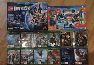 XBOX ONE PS4 Wii U and BLURAYS Trott Park Marion Area Preview