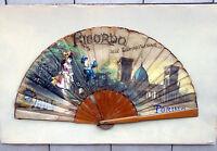 Ricordo Dell' Esposizione Di Torino 1884 Ventaglio Cm. 58 X 30 -  - ebay.it