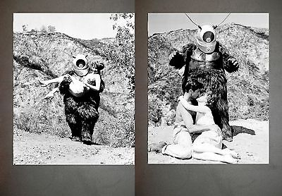 Robot Monster Promo Photo Lot B&W Still Set from the 1953 film