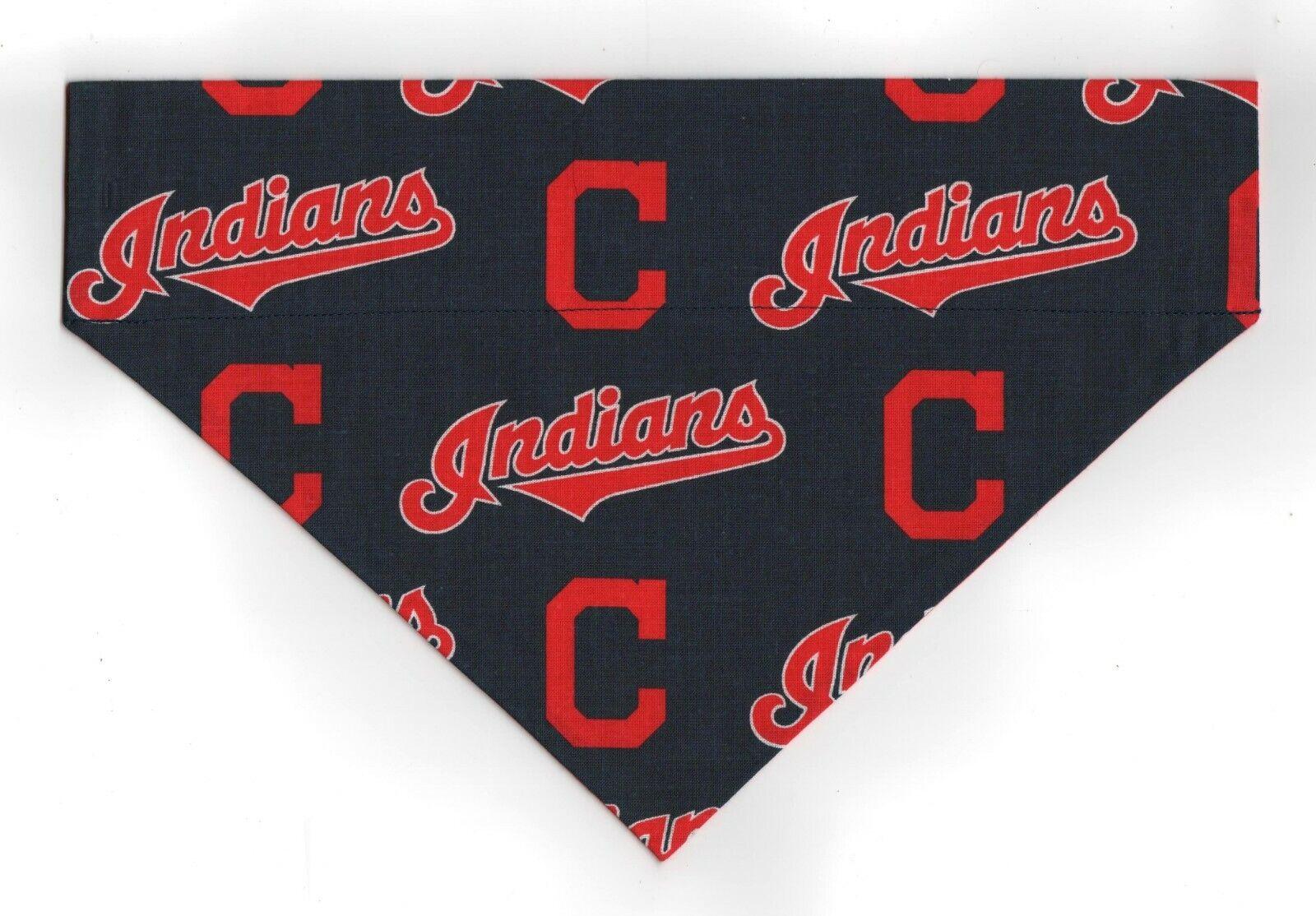 Cleveland INDIANS MLB Pet Dog Bandana Scarf Major League Bas