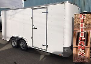 2017 CONTINENTAL CARGO TRAILER  8 X 16 FT