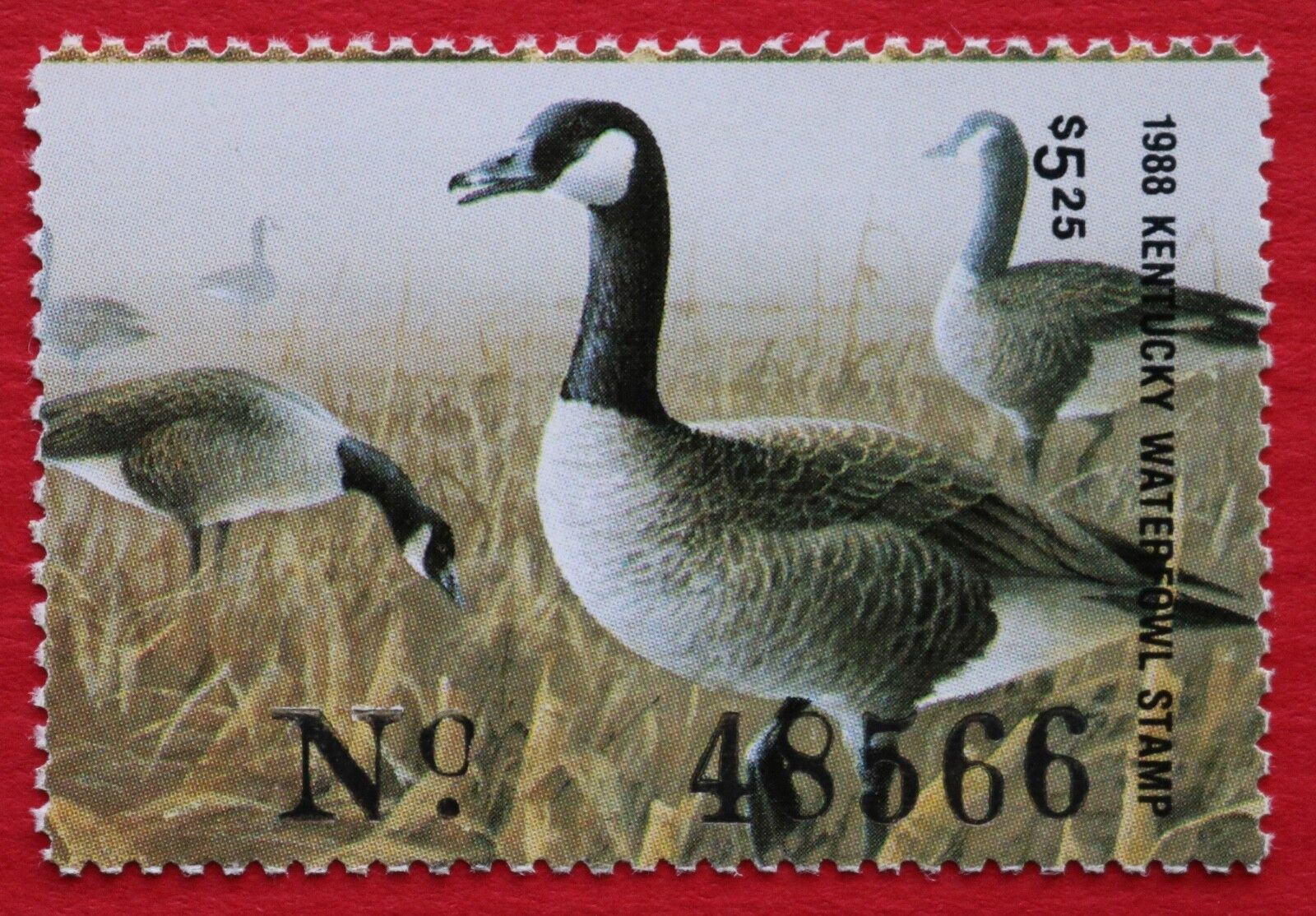 CLEARANCE KY04 1988 Kentucky Waterfowl Stamp - $4.00