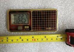 Howard Miller Digital Travel Alarm Clock Vintage