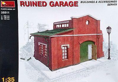 MINIART #35511 Ruined Garage für Diorama in 1:35