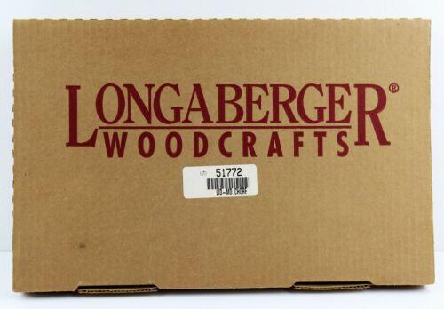 Longaberger Woodcrafts LID ONLY Medium Chore 51772 New