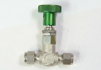Nupro Swagelok L Series High Flow Metering Valve Used Ss-4l 14 Inch Tube