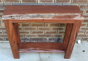 Rustic Jarrah Hall Table For Sale(SOLD PPU)