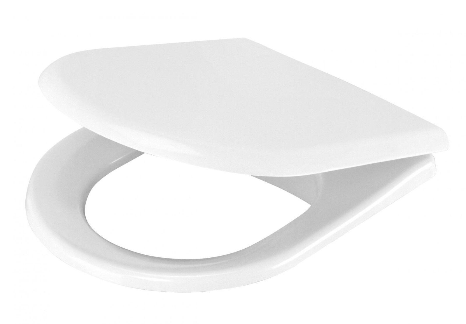 Peonia  WC Sitz mit absenkautomatik weiß mit Metallscharnier