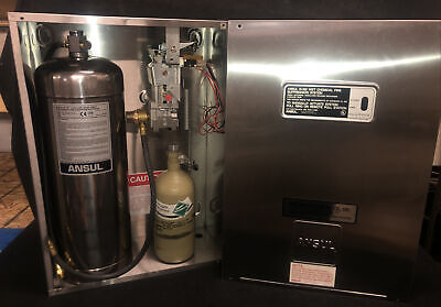 Ansul System R-102 Liquid Agent Restaurant Fire Suppression System Read Details
