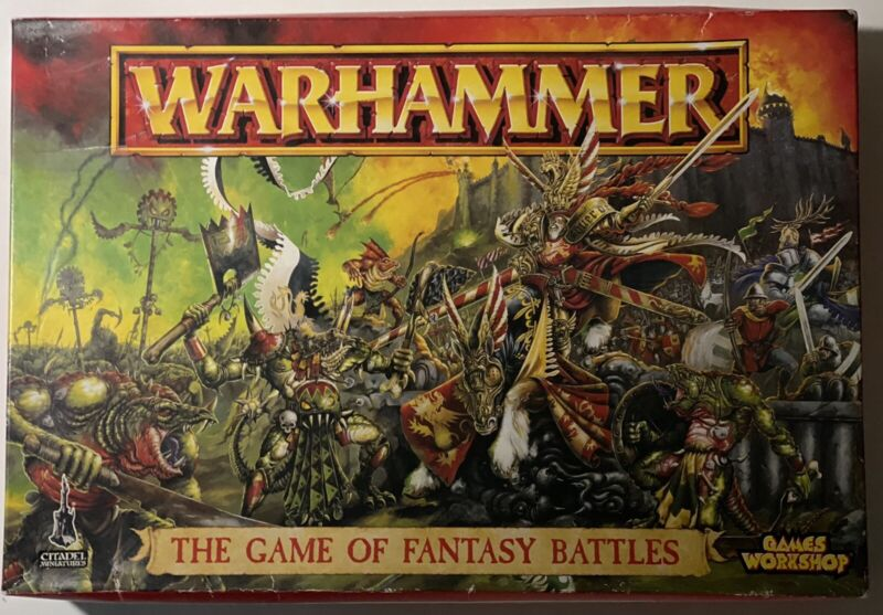 Warhammer The Game of fantasy Battles 5th Edition (1996) Core Game - 1 of 19,000