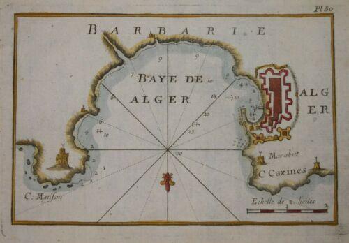 NORTH AFRICA - ALGIERS - BAYE DE ALGER BY JOSEPH ROUX 1764.
