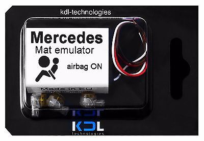For Mercedes A Class W168 Bypass Passenger Seat Occupancy Mat Emulator Airbag