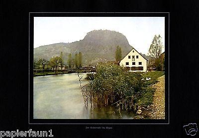 Hohentwiel im Hegau XL Fotoabbildung von 1924  +