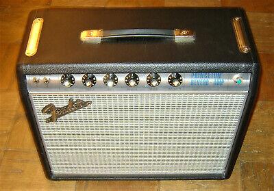 "Fender Princeton Reverb '68 Reissue Amplifier Silverface Celestion 10"" nfb mod"