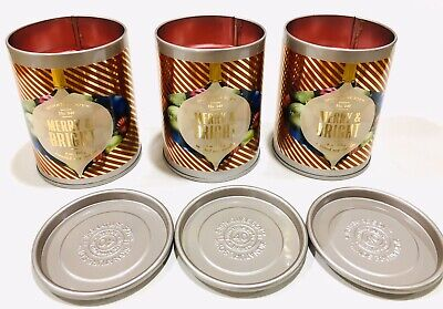 Signature Soy Illume 9oz Holiday Scented Candle Lot of 3 NEW #249 Merry & Bright