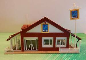 "Model Train Building- ""Aldi"" Nowra Nowra-Bomaderry Preview"