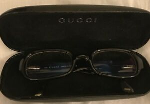 A Pair Of Gucci Reading Glasses - Black - With Original Case
