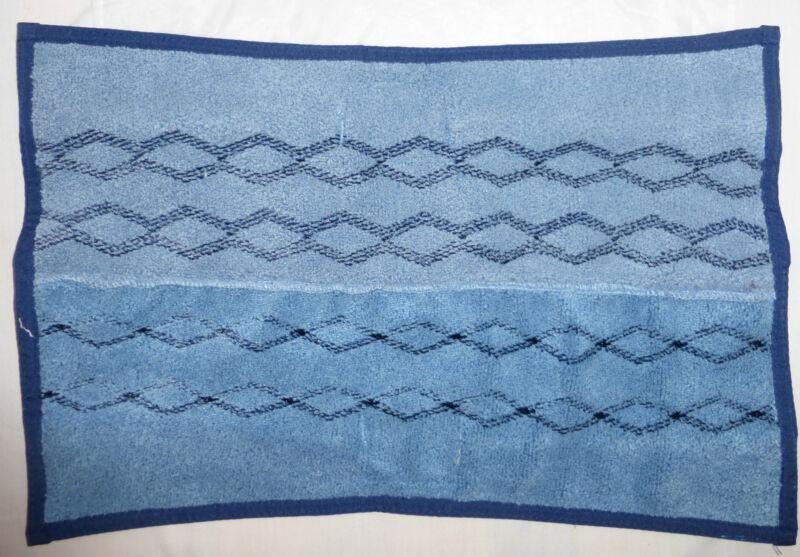 (1) Rubbermaid Commercial Hygen Microfiber Mop Plus Pad, 1791680, Blue, NEW