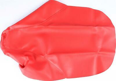 CYCLE WORKS SEAT COVER RED 35-12596-02