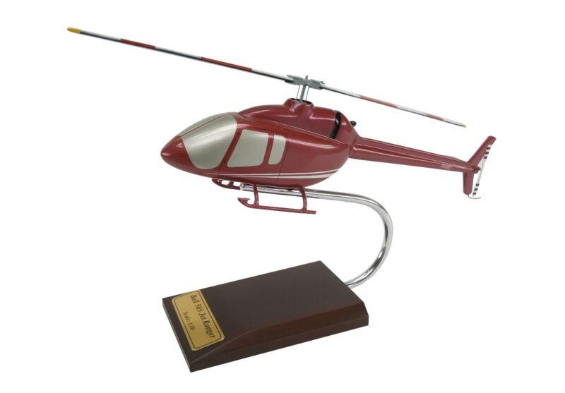 Bell 505 Jet Ranger X JRX Helicopter Desk Top Display Copter Huey 1/30 ES Model