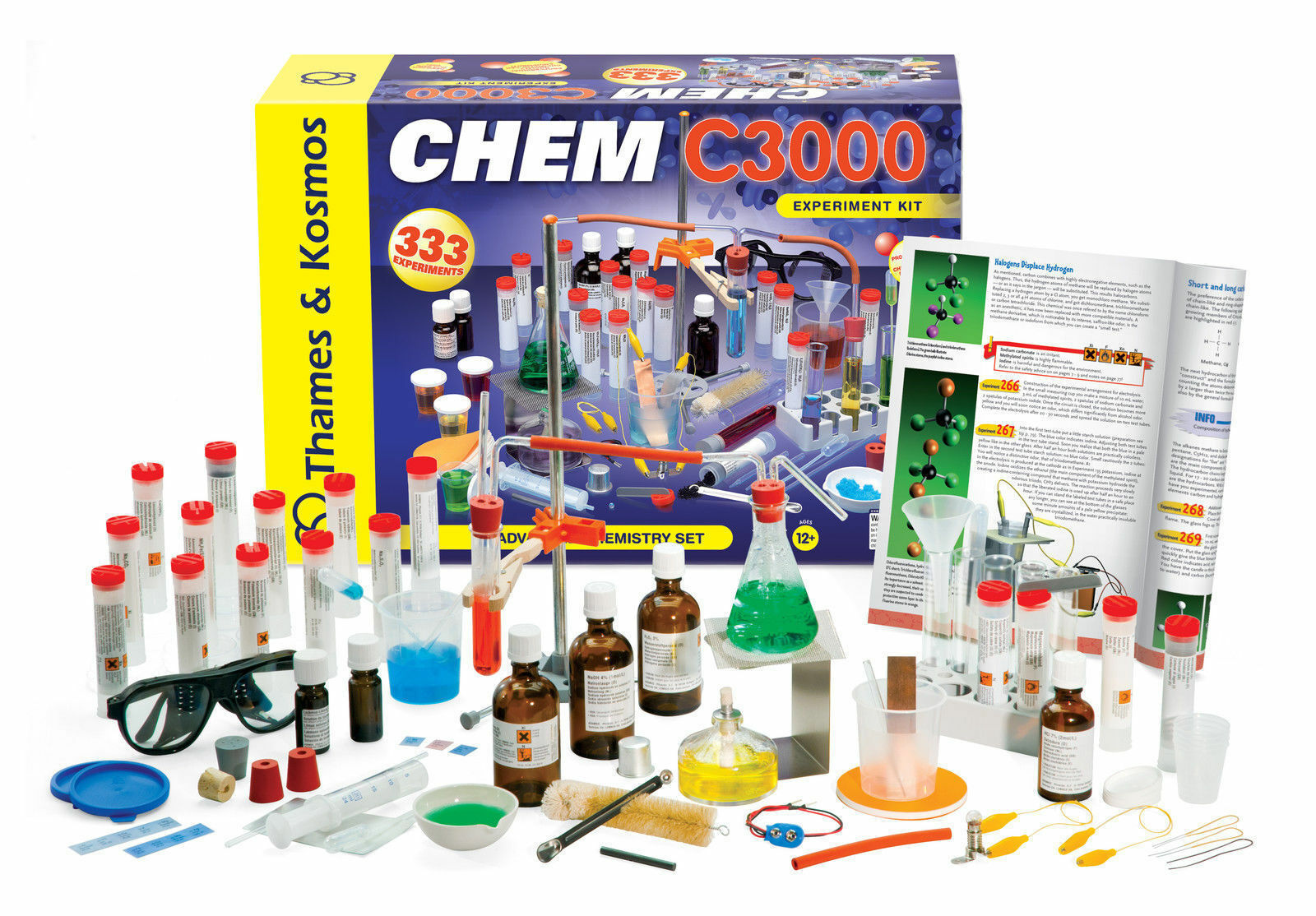 best chemistry sets the chem c3000 from thames and kosmos offers experiments in a number of areas including combustion acids and bases polymers and organic chemistry