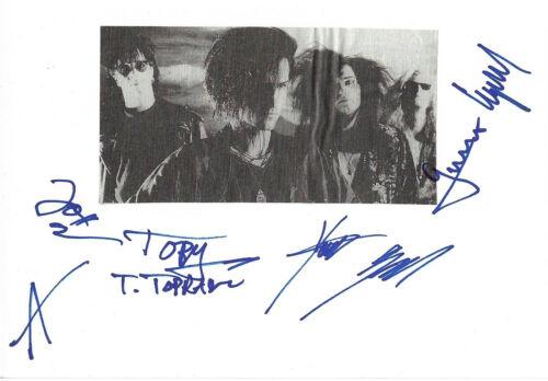 Love Like Blood Autogramme signed 10x15 cm Karteikarte mit Magazinbild