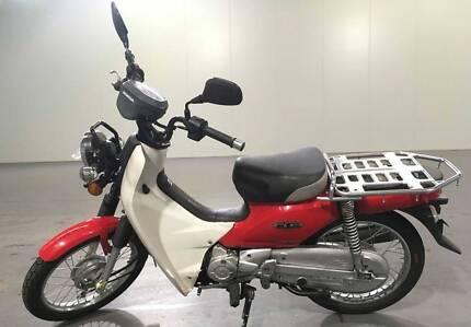 Honda NBC 110 postie bikes
