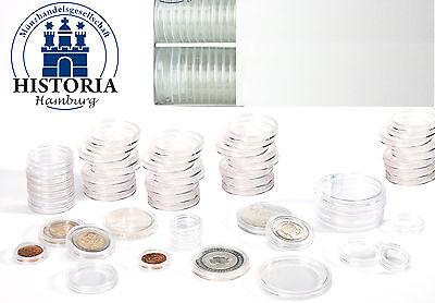 100er-Packung Leuchtturm MünzkapselnfürIhreGold Silber oder 2 Euro Münzen