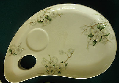 """ROYAL STAFF.SHIRE CLARICE CLIFFpalette plate """"BLOSSOM TIME"""" PRE OWNED EXCUSITE"""