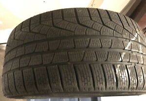 4 PNEUS  D'HIVER/ WINTER TIRES 255/35/R19