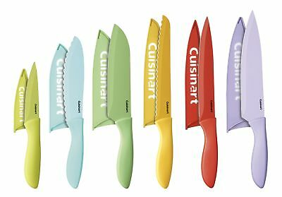 Cuisinart C55 12Pcer1 Advantage Color Collection 12 Piece Knife Set With Blade